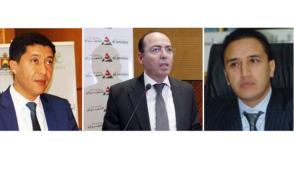 ما علاقة رئيس جهة بني ملال بمدير العمران و رئيس جهة الشرق بمشاريع الرباط؟