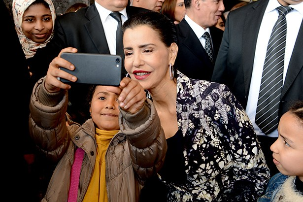 """بالصور.. الأميرة اللا مريم تترأس  اختتام لقاء""""المرأة والطفل في وضعية هشاشة"""""""