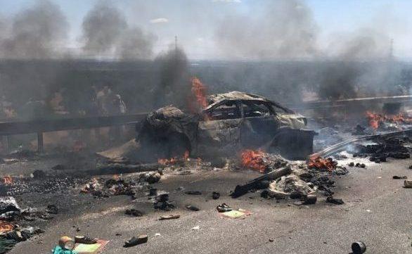مصرع 6 أشخاص في حادثة سير على الطريق السيار أكادير
