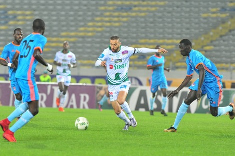 الرجاء البيضاوي يتأهل إلى الدور الأول مكرر من كأس الكنفدرالية الإفريقية
