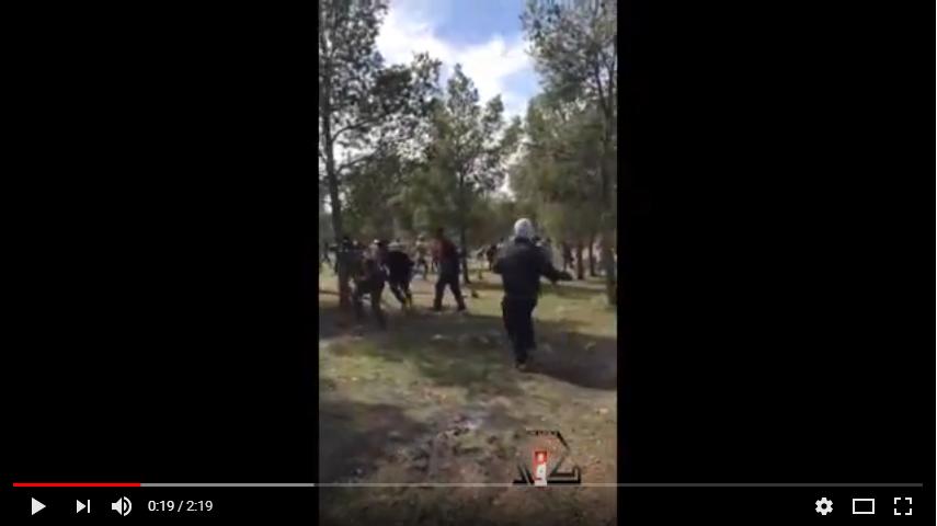 العدل والإحسان والنهج يحرضون على مهاجمة  القوات الامن في جرادة  والسلطة تلتزم بتطبيق القانون ( فيديوهات)
