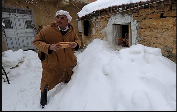نشرة إنذارية: رياح قوية و أمطار وثلوج وانخفاض في درجات الحرارة