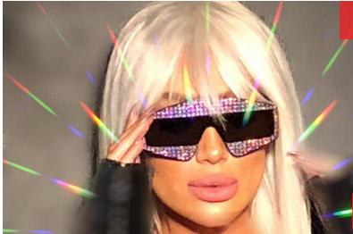 مايا دياب تصدم الجميع بسعر نظّاراتها البرّاقة