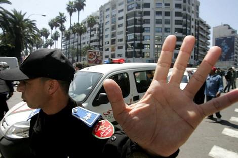 شرطي يستمعل سلاحه الوظيفي في مواجهة مجرم بالبيضاء