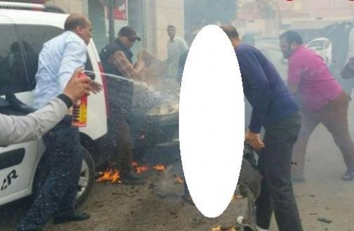 شاب يضرم النار في جسده داخل وكالة بنكية في العيون