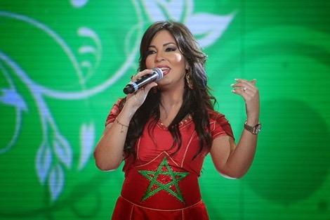 الملك يشيد بأغنية Morocco لفاطمة الزهراءالعروسي