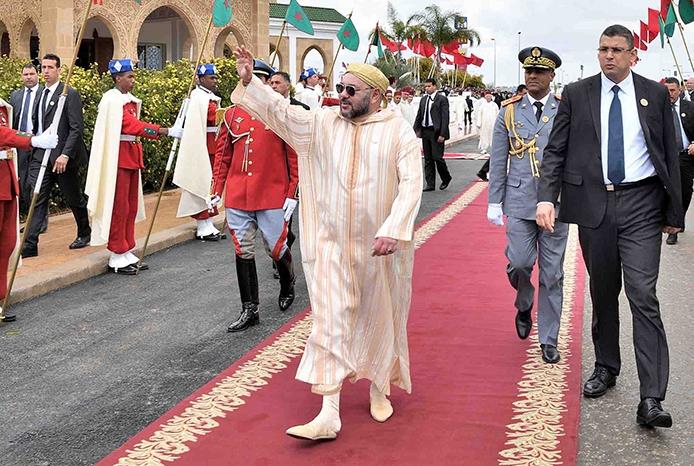 أمير المؤمنين يدشن بابن مسيك مسجد