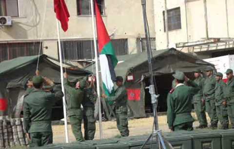 الملك يعطي تعليماته  من أجل إقامة مستشفى ميداني بغزة