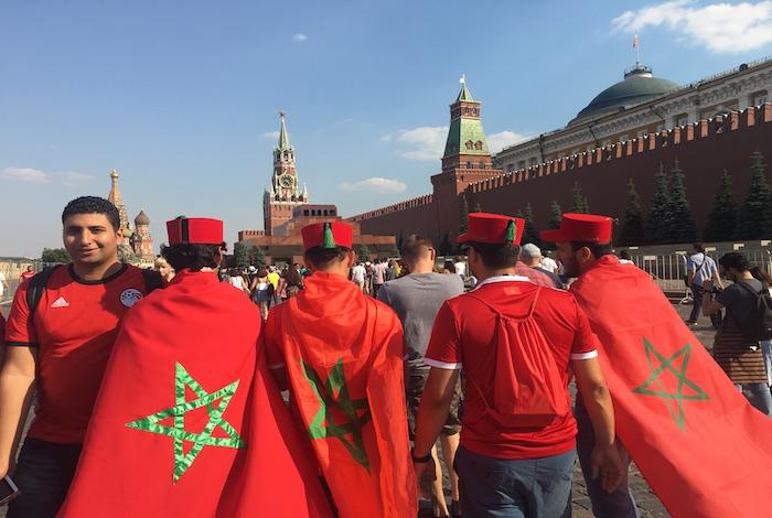 بعثة أمنية في روسيا لتقديم الدعم لجماهير
