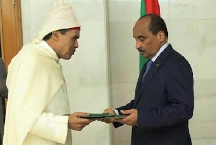 حميد شبار يقدم أوراق اعتماده سفيرا للمغرب بموريتانيا