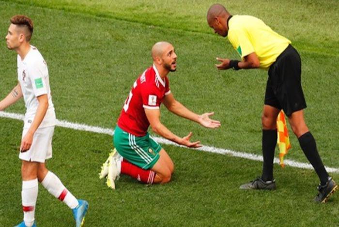 أنترفاكس الدولية: إذا إذا ثبتت الأخطاء التحكيمية ستعاد مباراة المغرب والبرتغال