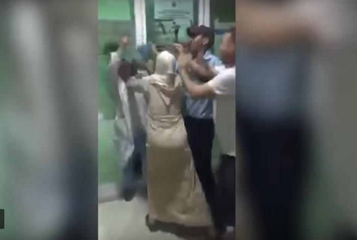 اعتقال متهمة بتعنيف ممرضة بمستشفى تاونات (فيديو)