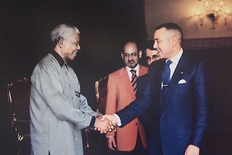 هكذا تحدث الملك محمد السادس على نيلسون مانديلا