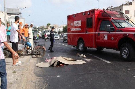مصرع 14 شخصا في حوداث السير بالمناطق الحضرية