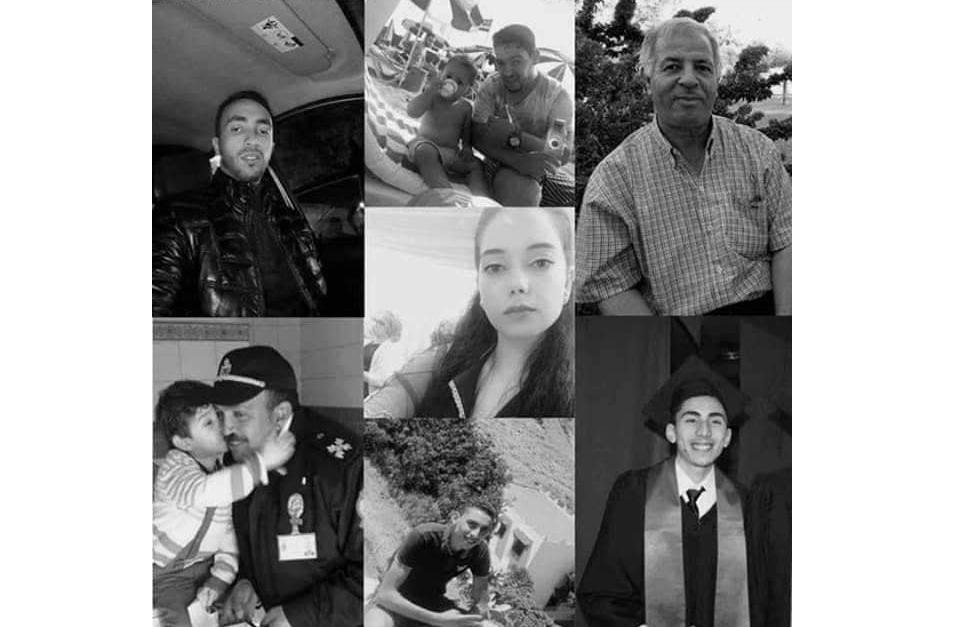 هؤلاء هم ضحايا قطار