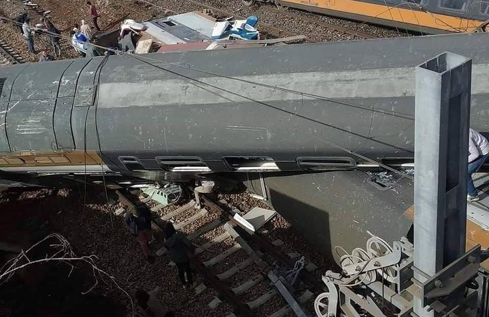 تسريبات صوتية بين مستخدمين في مكتب الخليع تكشف أسباب حادث القطار ( فيديو)