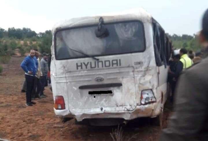 مصرع شرطي وإصابة آخرين في حادث انقلاب حافلة تقل رجال أمن بالقنيطرة