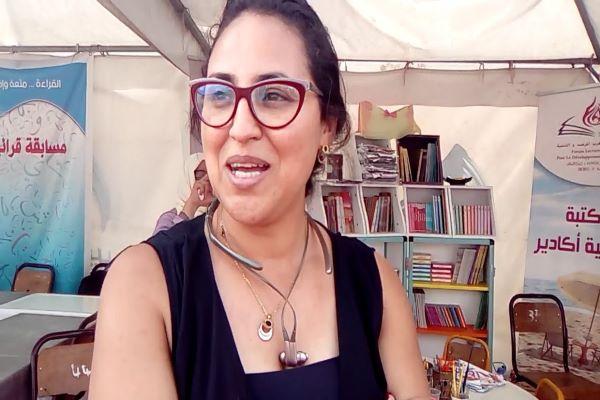 كنزة بوعافية: جميعا من أجل مغرب يقرأ