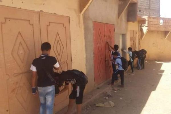 """غياب دار الطالب يدفع عشرات التلاميذ لاكتراء """"كاراجات"""" بتارودانت (صور)"""