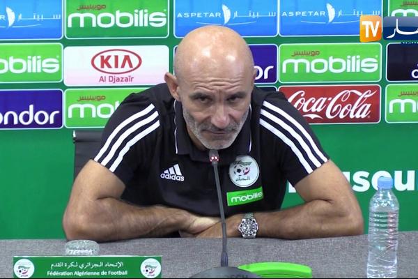 مدرب الجزائر يحذر لاعبيه من قوة